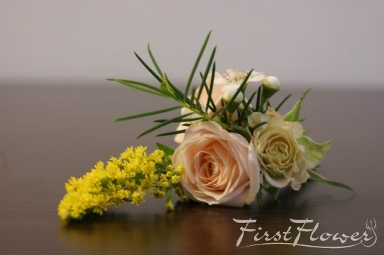 Flori Nunta Piept Flori Naturale de Pus in Piept