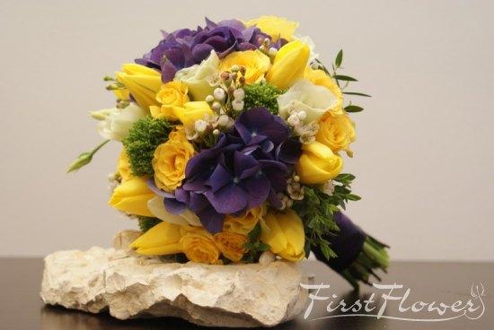 Inspiratie Buchet De Mireasa In Nuante Calde First Flower
