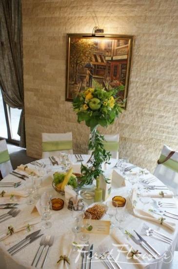 Decor nunta restaurant piatra alba first flower