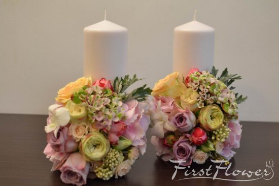 Glam Wedding Candels!