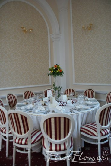 Decor sala nunta restaurant traian imperial