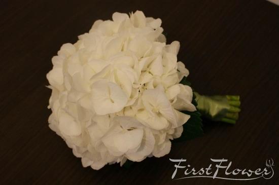 Buchet Mireasa Hortensie Alba First Flower