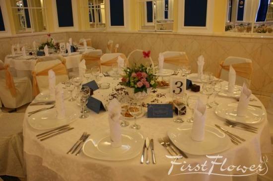 Decor nunta restaurant calipso first flower